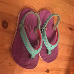 Other - 7/8 purple sandals
